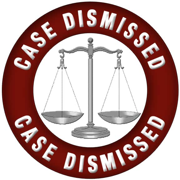 get your case dismissed