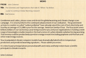 manmade global warming john coleman
