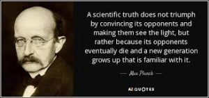 max planck quote scientific truth