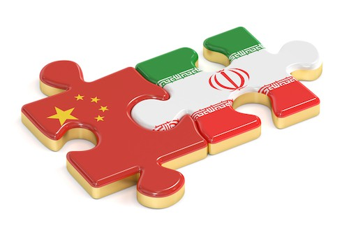 tension against iran china