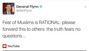 tension against iran fear of muslims is rational flynn
