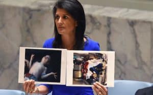 trump syria strike nikki haley