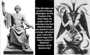 god of freemasonry baphomet washington